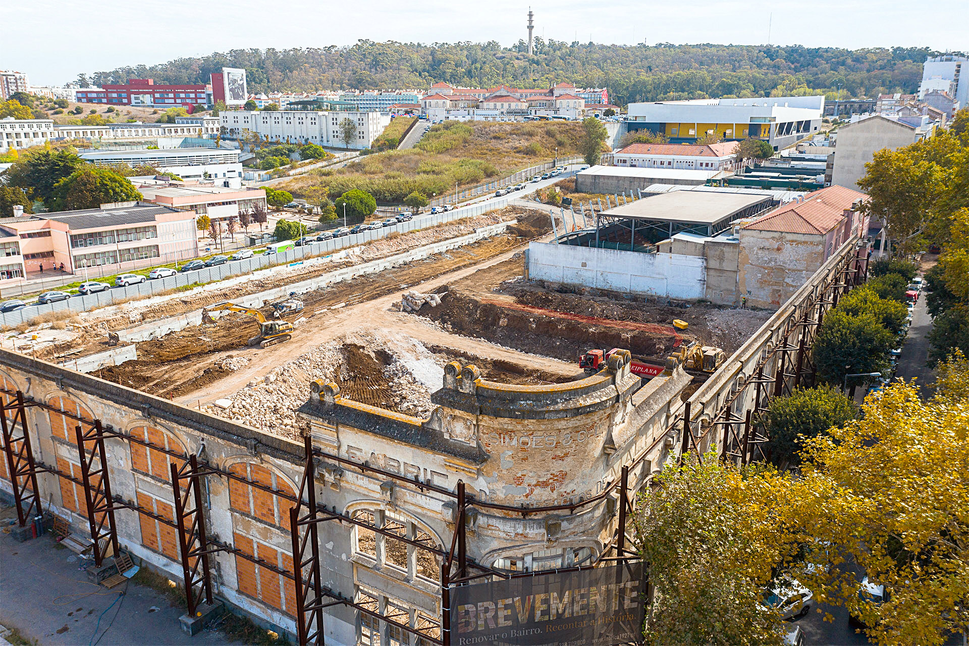 August 2019: Start of the conversion of the Simões & C.ª Factory