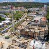 JUNHO 2020: CONTINUAÇÃO DA CONSTRUÇÃO DOS PISOS DE ESTACIONAMENTO