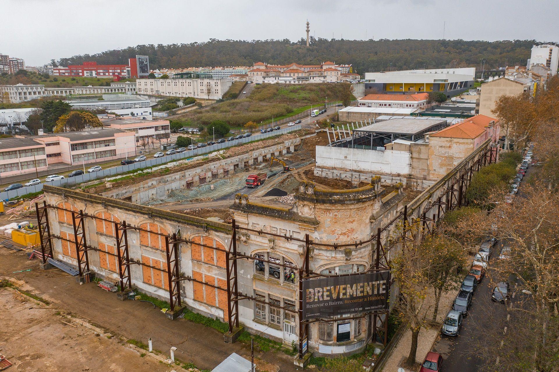 Dezembro 2019: Desenvolvimento de Trabalhos de Obra