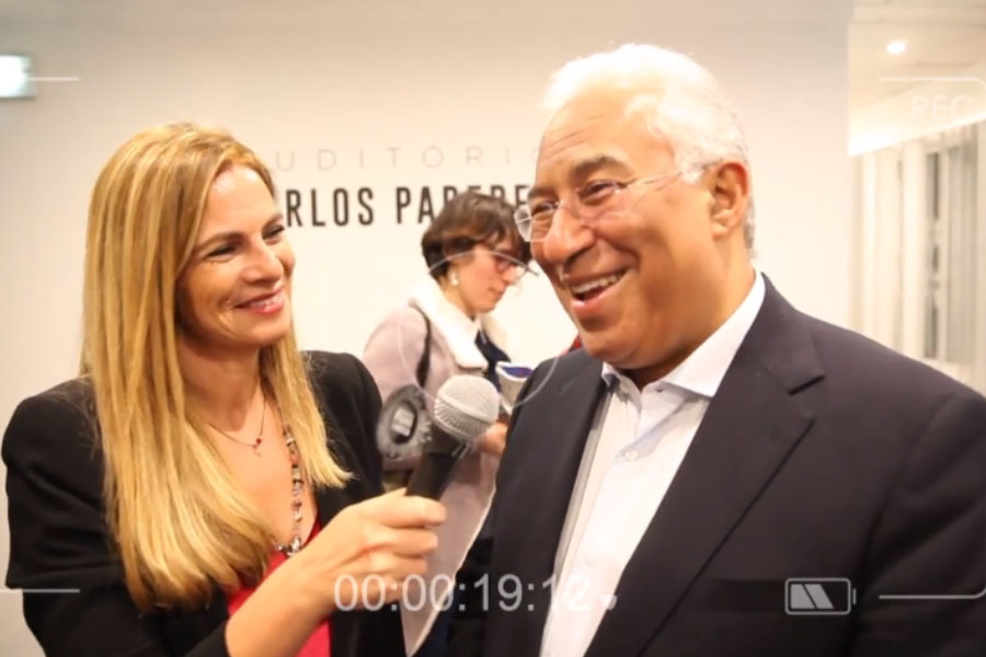 António Costa talks about the advantages of living in Benfica